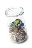 Pequeñas esferas de cristal Fotos de archivo