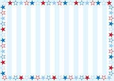 Pequeñas estrellas y rayas Fotografía de archivo libre de regalías