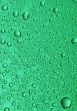 Pequeñas gotas del agua Foto de archivo libre de regalías