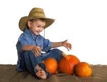 Pequeno agricultor Fotografia de Stock