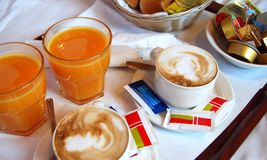 Pequeno almoço Fotos de Stock