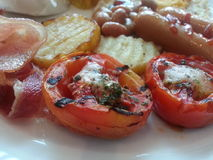 Pequeno almoço Fotografia de Stock