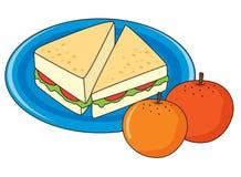 Pequeno almoço ilustração royalty free