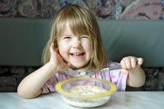 Pequeno almoço alegre Imagens de Stock