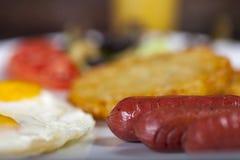 Pequeno almoço americano foto de stock