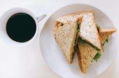 Pequeno almoço americano imagens de stock royalty free