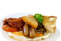 Pequeno almoço australiano cheio Imagens de Stock