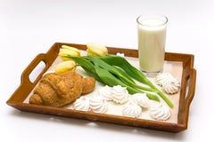 Pequeno almoço bonito Imagens de Stock
