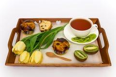 Pequeno almoço bonito Fotografia de Stock Royalty Free