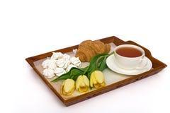 Pequeno almoço bonito Fotografia de Stock