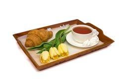 Pequeno almoço bonito Foto de Stock Royalty Free