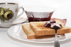 Pequeno almoço clássico Fotografia de Stock Royalty Free