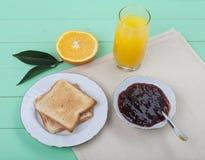 Pequeno almoço claro Fotos de Stock