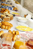 Pequeno almoço claro Imagens de Stock Royalty Free