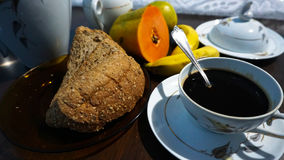 Pequeno almoço claro Fotografia de Stock