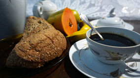 Pequeno almoço claro Imagem de Stock Royalty Free