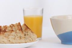 Pequeno almoço com brinde Foto de Stock