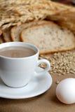 Pequeno almoço com cirn Imagem de Stock Royalty Free