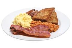 Pequeno almoço cozinhado Imagens de Stock Royalty Free