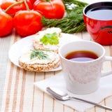 Pequeno almoço da dieta Imagem de Stock