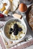 Pequeno almoço da manhã Imagens de Stock Royalty Free