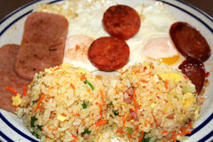 Pequeno almoço de Guam Imagens de Stock Royalty Free