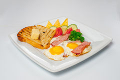 Pequeno almoço delicioso Fotos de Stock Royalty Free