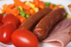 Pequeno almoço delicioso saudável Imagens de Stock