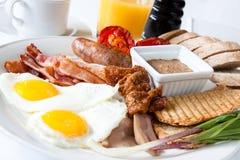 Pequeno almoço do amante da carne Fotografia de Stock Royalty Free