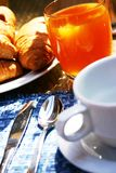 Pequeno almoço do café Imagens de Stock