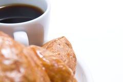 Pequeno almoço do café Fotos de Stock