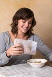 Pequeno almoço do Granola foto de stock royalty free
