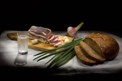 Pequeno almoço do russo Imagens de Stock
