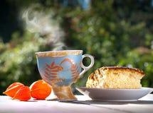Pequeno almoço do verão Imagens de Stock Royalty Free
