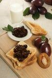 Café da manhã doce foto de stock