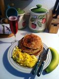 Pequeno almoço doce da manhã fotos de stock