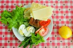 Pequeno almoço ensolarado Fotografia de Stock Royalty Free
