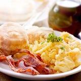 Pequeno almoço entusiasta Imagem de Stock Royalty Free