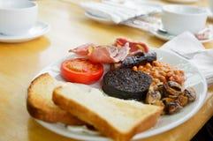 Pequeno almoço escocês cheio Imagem de Stock Royalty Free