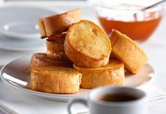 Pequeno almoço francês imagem de stock