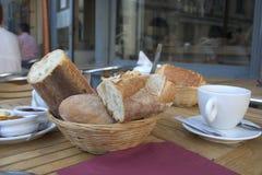 Pequeno almoço francês Foto de Stock