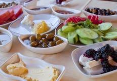 Pequeno almoço fresco Fotografia de Stock
