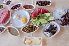Pequeno almoço fresco Foto de Stock Royalty Free