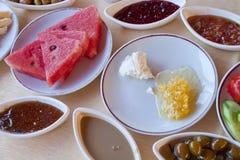 Pequeno almoço fresco Fotos de Stock Royalty Free