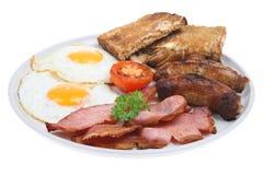 Pequeno almoço fritado inglês foto de stock royalty free