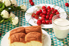 Pequeno almoço grande Imagens de Stock