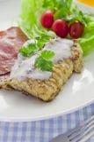 Pequeno almoço grande e cheio Foto de Stock Royalty Free