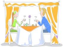 Pequeno almoço - ilustração vectorial Foto de Stock