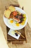 Pequeno almoço inglês Fotos de Stock Royalty Free