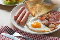 Pequeno almoço inglês Imagens de Stock